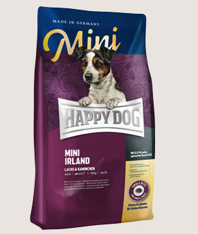 happy dog trockenfutter hund mini irland