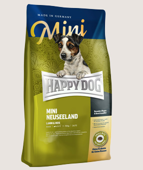 happy dog trockenfutter hund mini neuseeland