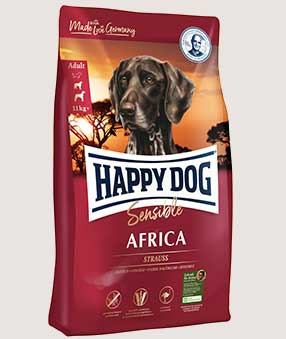 happy dog trockenfutter product supreme sensible africa