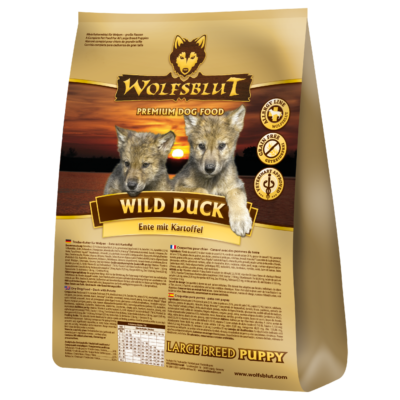 wolfsblut-trockenfutter-wild-duck-puppy-large-breed-wbwdplb