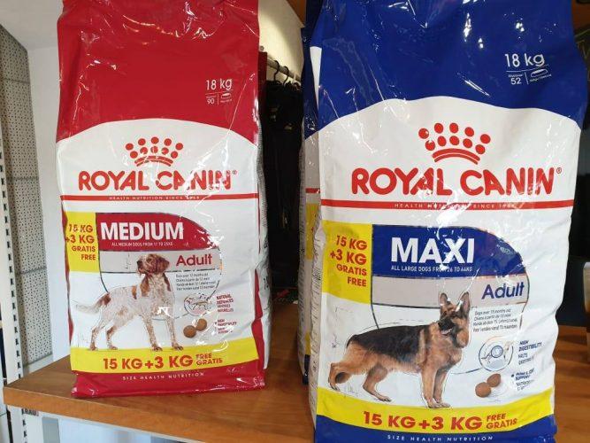 Royal Canin Hundefutter Medium und Maxi